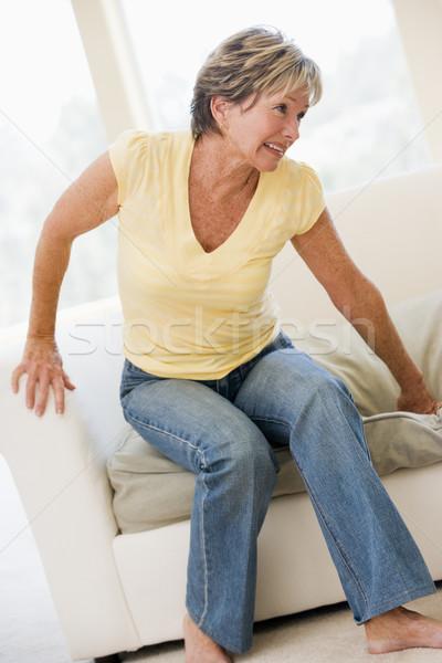 женщину страдание назад более цвета Сток-фото © monkey_business