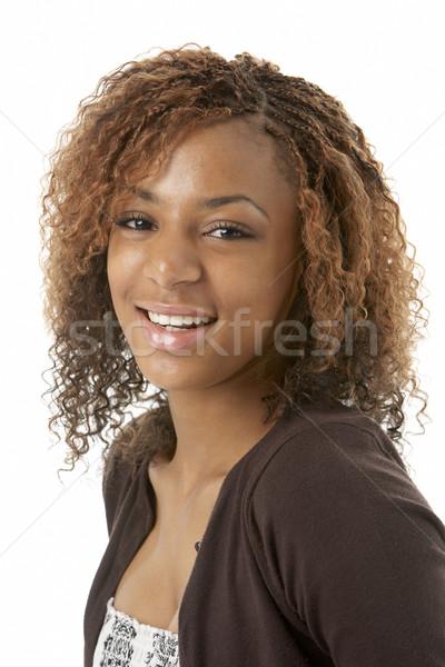 Studio Portrait Of Happy Teenage Girl Stock photo © monkey_business