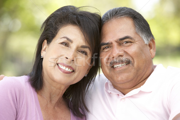 Portrait Of Senior Couple In Park Stock photo © monkey_business