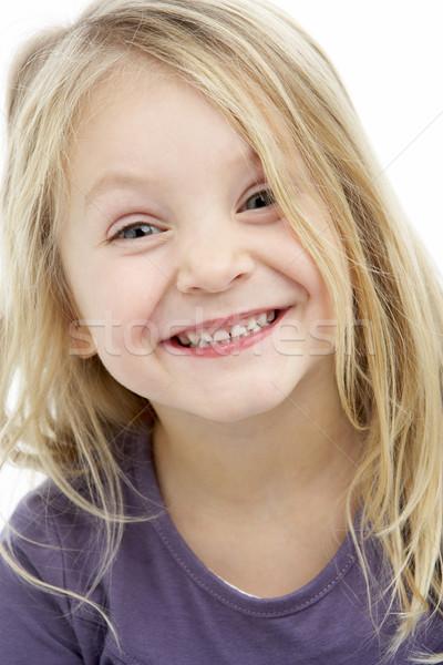 Ritratto sorridere ragazza bambini felice Foto d'archivio © monkey_business