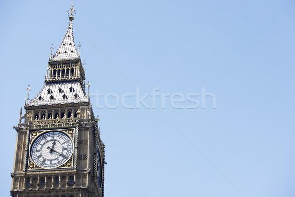 Big Ben's Clock Face, London, England Stock photo © monkey_business