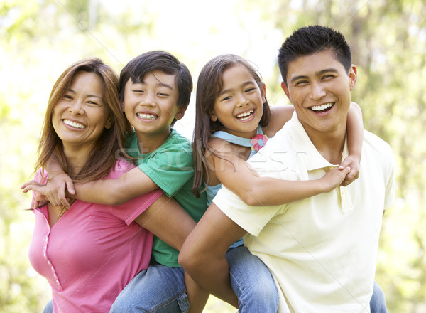 Stock photo: Family Enjoying Day In Park