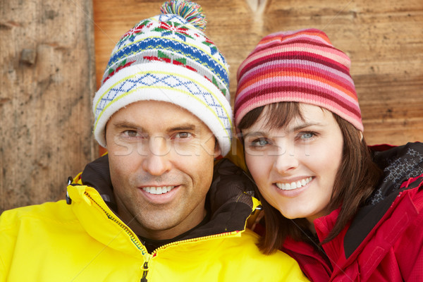 Middle Aged Couple Dressed For Cold Weather Stock photo © monkey_business