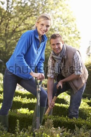 Mature Couple On Country Walk Stock photo © monkey_business