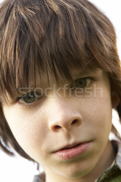 Portrait Of Boy Frowning Stock photo © monkey_business