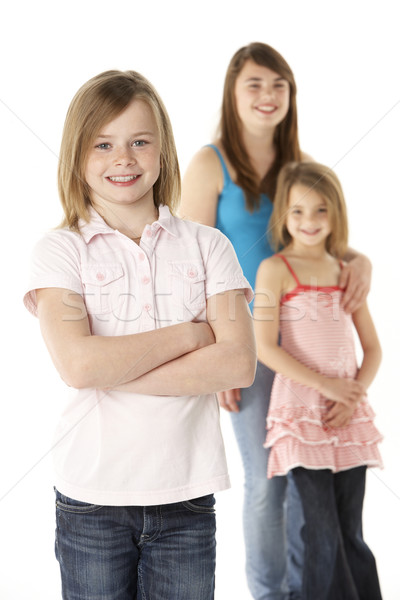 Group Of Girls Together In Studio Stock photo © monkey_business