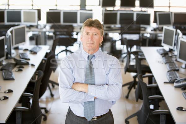 肖像 シニア 在庫 トレーダー コンピュータ ビジネスマン ストックフォト © monkey_business