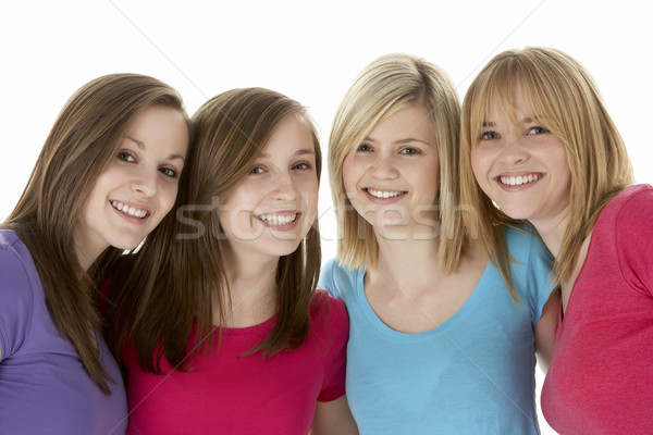 Groupe adolescent portrait jeunes adolescent Photo stock © monkey_business