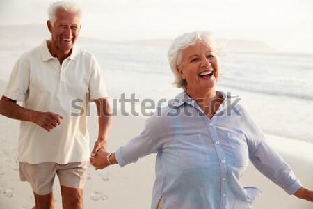 Nővér segít idős nő séta férfi Stock fotó © monkey_business