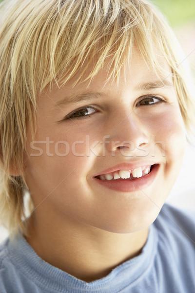 Portret chłopca uśmiechnięty twarz dzieci dziecko Zdjęcia stock © monkey_business