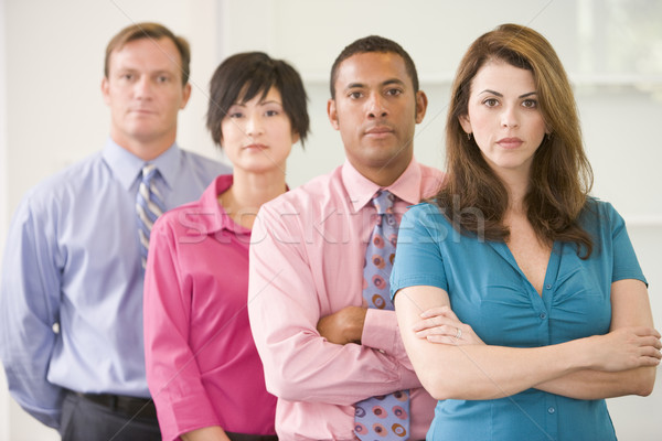 Business team standing indoors Stock photo © monkey_business