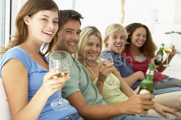 Friends Enjoying A Drink Together Stock photo © monkey_business