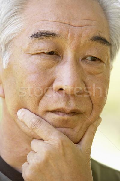 лице портрет человек старший эмоций природного Сток-фото © monkey_business