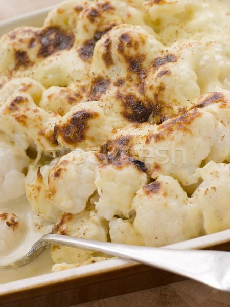 Dish of Cauliflower Cheese Stock photo © monkey_business