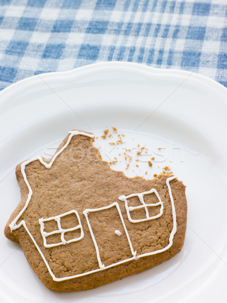 Stock photo: Close-Up Of Gingerbread House