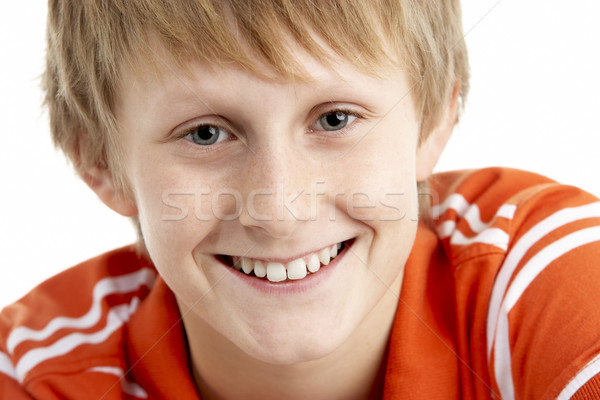 Portrait Of Smiling 12 Year Old Boy Stock photo © monkey_business