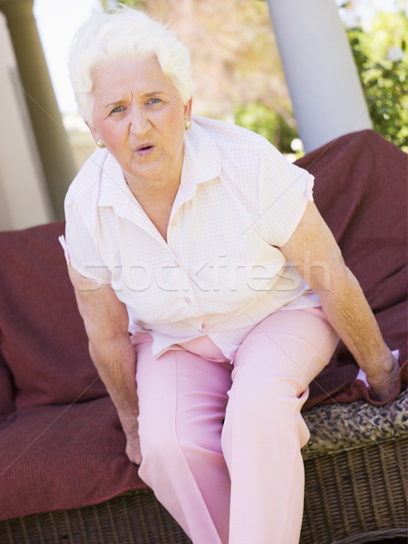 Woman With Back Pain Stock photo © monkey_business