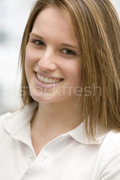 Retrato sorridente menina crianças pessoa Foto stock © monkey_business