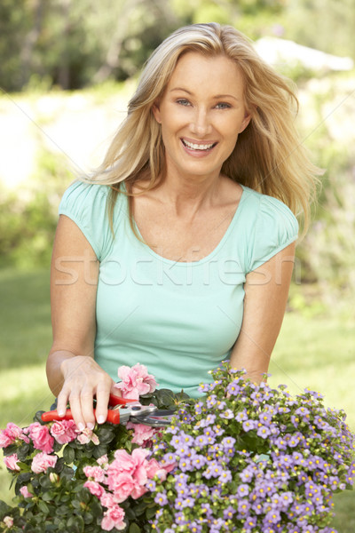 Young Woman Gardening Stock photo © monkey_business