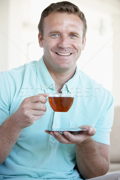 Mid Adult Man Drinking Tea Stock photo © monkey_business