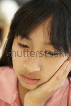Portrait Of Unhappy Pre-Teen Girl Stock photo © monkey_business