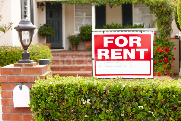 House for rent Stock photo © monkey_business