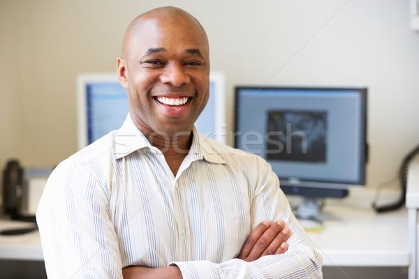 Portrait Of Male Obstetrician In Hospital Stock photo © monkey_business