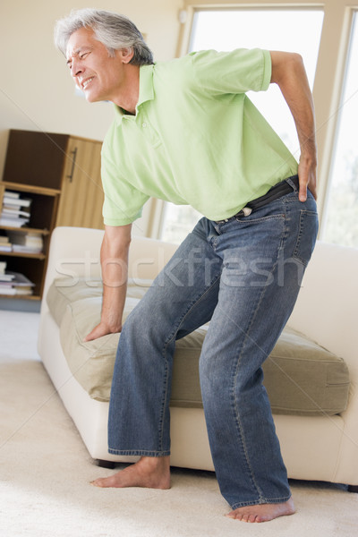 Man With Back Pain Stock photo © monkey_business