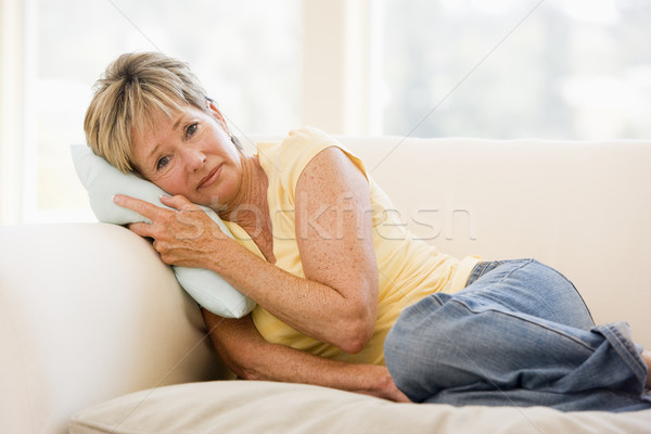 Woman Feeling Unwell Stock photo © monkey_business