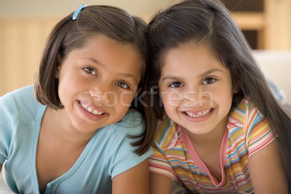 Ritratto due giovani ragazze bambini felice Foto d'archivio © monkey_business
