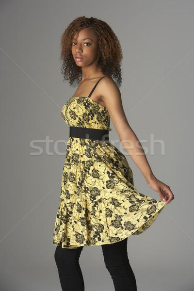 Studio Portrait Of Fashionably Dressed Teenage Girl Stock photo © monkey_business