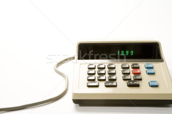 Old-Fashioned Calculator Stock photo © monkey_business