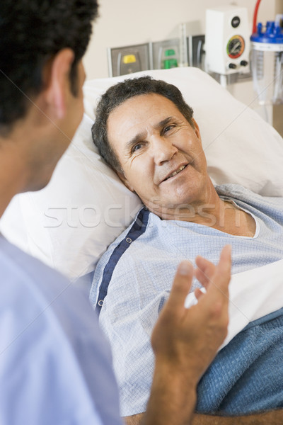 Doctor And Patient Talking To Each Other Stock photo © monkey_business
