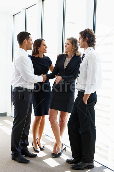 Business Team Having Informal Meeting In Office Stock photo © monkey_business
