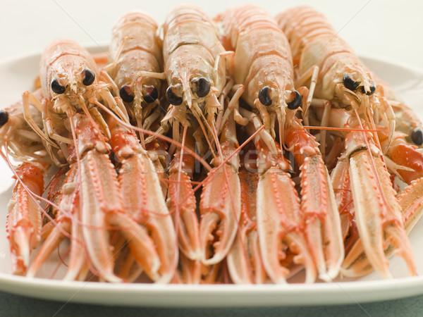 Zdjęcia stock: Tablicy · gotowania · posiłek · homara · Francja · poziomy
