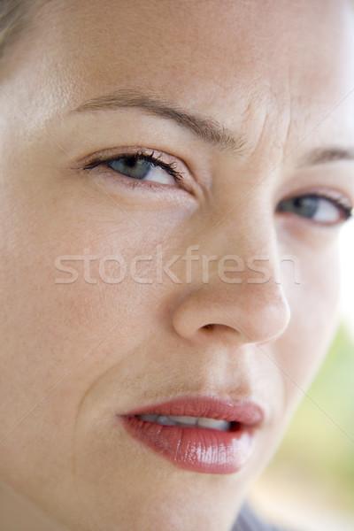 Head shot of woman scowling Stock photo © monkey_business