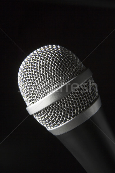 Close-Up Of Microphone Stock photo © monkey_business