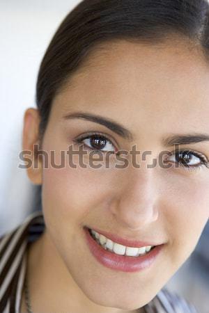 Portré lány mosolyog gyerekek gyermek személy Stock fotó © monkey_business