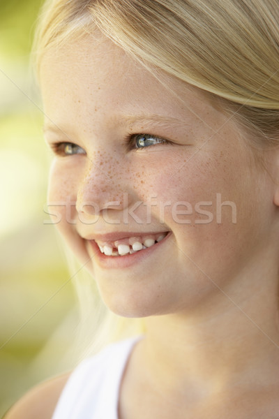 Kids Portraits, Sulking, Frowning, Girl, Unhappy, Kids, Angry, H Stock photo © monkey_business