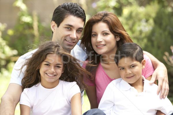 Сток-фото: семьи · день · парка · детей · человека