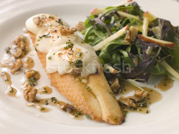 Appel salade honing walnoot dressing kaas Stockfoto © monkey_business