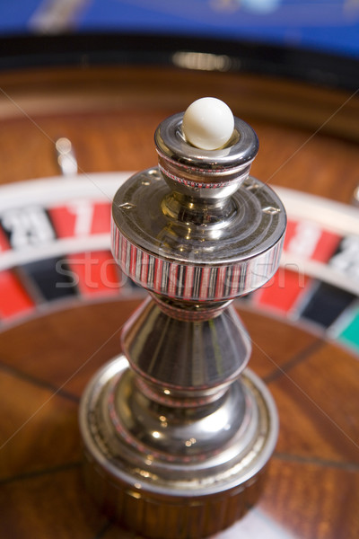 Close up of roulette wheel Stock photo © monkey_business