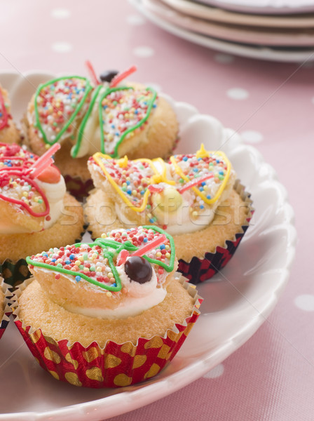 Butterfly Cup Cakes Stock photo © monkey_business