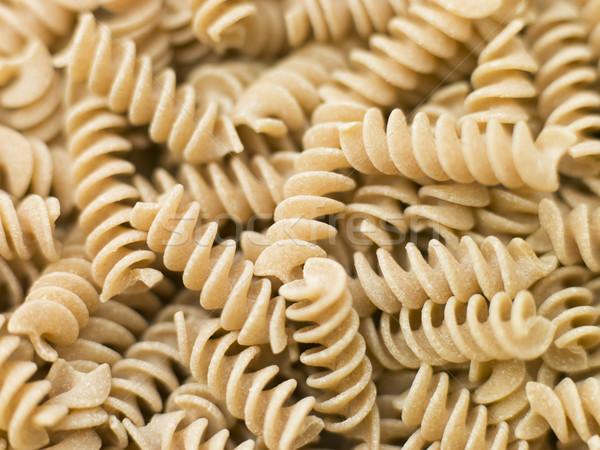 Pasta, Fusilli, Wholewheat Stock photo © monkey_business