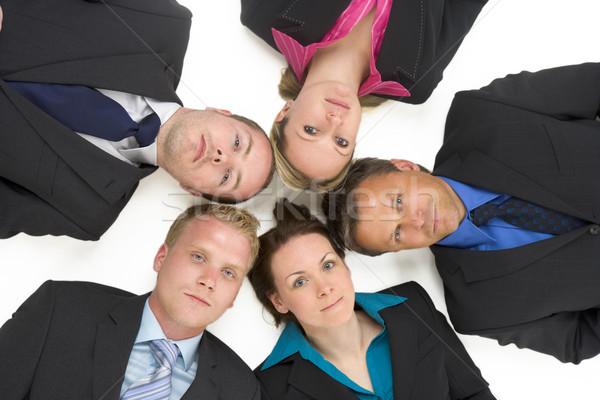 Zdjęcia stock: Widoku · ludzi · biznesu · mężczyzn · grupy · garnitur