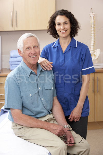 Portrait of male and female osteopath Stock photo © monkey_business