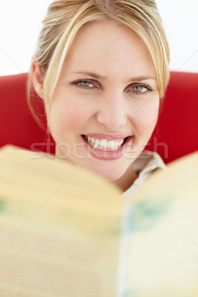 Woman reading book Stock photo © monkey_business