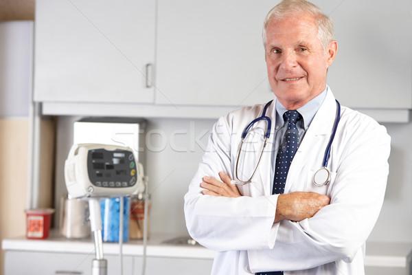 Portré orvos orvosi rendelő férfi csapat személy Stock fotó © monkey_business
