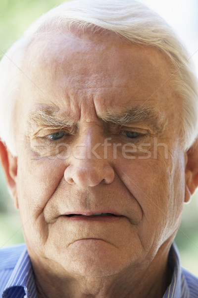 Portrait Of An Upset Senior Man Stock photo © monkey_business