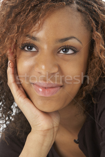 Studio Portrait Of Happy Teenage Girl Stock photo © monkey_business